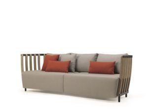 Divano da giardino a 3 posti arredare in modo lussuoso l - Foderare un divano da soli ...