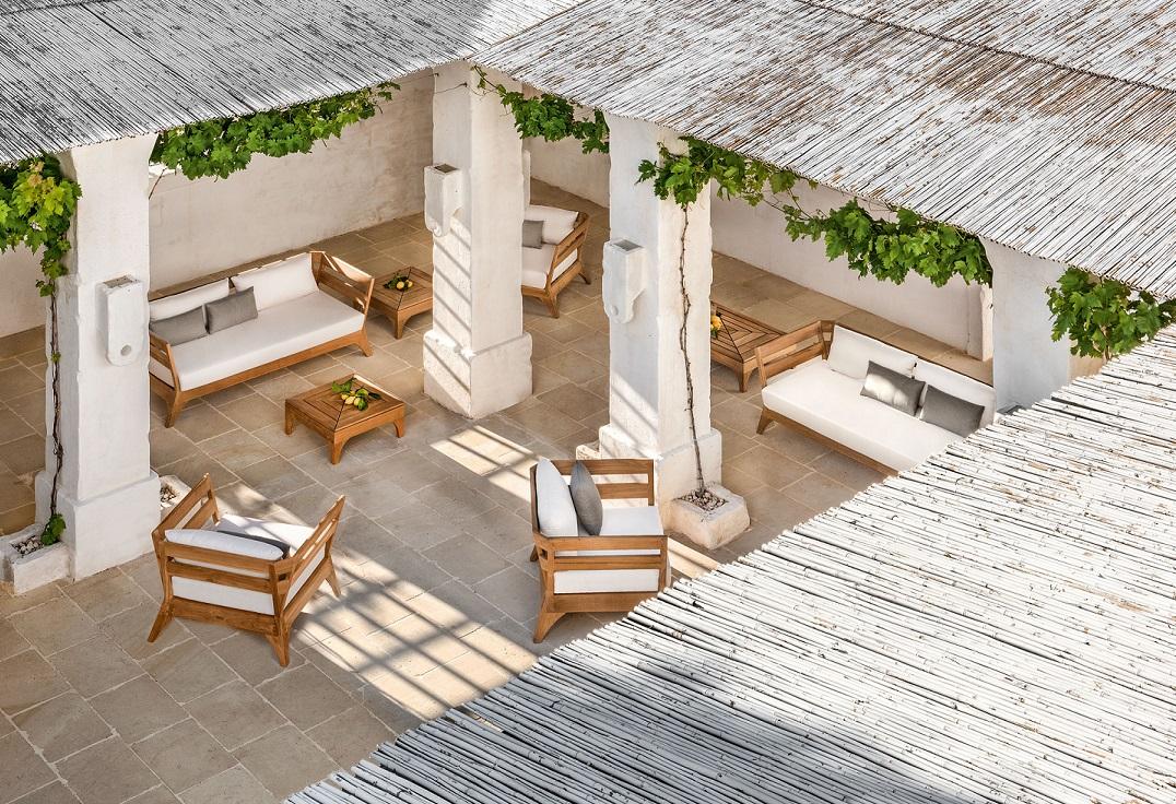 Salotti da giardino vivere un 39 esperienza unica nel tuo outdoor ethimo - Salotti da giardino economici ...